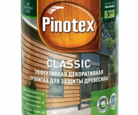 Pinotex Classic декоративно-защитная пропитка