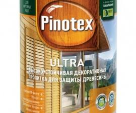 Pinotex Ultra декоративно-защитная пропитка