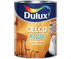 Dulux Celco Aqua 70 / Глянцевый лак для дерева / Дюлакс Селко Аква 70
