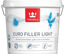 Tikkurila Euro Filler Light / Легкая шпатлевка / Тиккурила Евро Филлер Лайт
