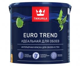 Tikkurila Euro Trend / Краска для обоев и стен база C / Тиккурила Евро Тренд