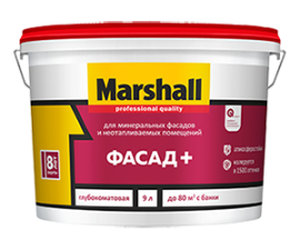Marshall Fasad+ / Акриловая краска база BW / Маршалл Фасад плюс