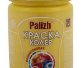 Palizh Краска-колер Яркие/Пастельные тона