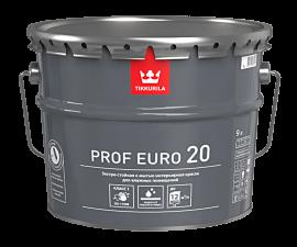 Tikkurila Prof Euro 20 / Экстрастойкая к мытью краска база C / Тиккурила Проф Евро 20