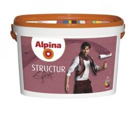 ALPINA STRUCTUR EFFECT краска структурная для интерьеров