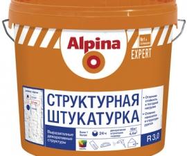 ALPINA EXPERT штукатурка структурная R30