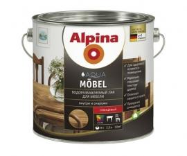 ALPINA AQUA MOEBEL GL лак для мебели водоразбавляемый матовый