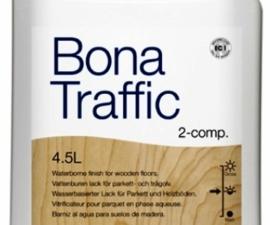Bona Traffic / Лак двухкомпонентный полуматовый / Бона Траффик