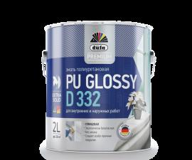 Dufa Premium PU Glossy D332 / Дюфа Премиум D332 Эмаль универсальная глянцевая