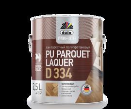 Dufa Premium Pu Parquet Laquer D334 / Дюфа Премиум D334 Лак паркетный полуматовый