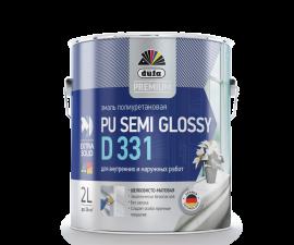 Dufa Premium PU Semi Glossy D331 / Дюфа Премиум D331 Эмаль универсальная шелковисто-матовая