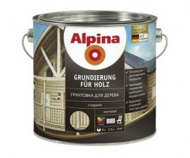 ALPINA GRUNDIERUNG FUR HOLZ грунтовка для дерева