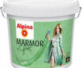 Alpina Effekt Marmor