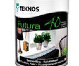 TEKNOS Futura 40 0,9l полуглянцевая уретано-алкидная краска