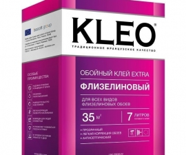 Kleo Extra 35 / Клей для флизелиновых обоев / Клео Экстра 35