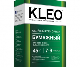 Kleo Optima 7-9 / Клей для бумажных обоев / Клео Оптима 7-9