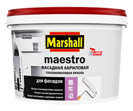 Marshall Maestro / Краска фасадная акриловая база BC (ПОД ЗАКАЗ) / Маршалл Маэстро