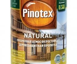 Pinotex Natural / Лессирующее деревозащитное покрытие / Пинотекс Натурал