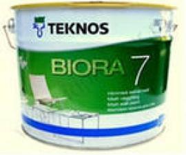 TEKNOS BIORA 7 матовая водоразбавляемая акрилатная краска