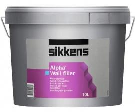Sikkens Alpha Wall Filler Безусадочная легкая выравнивающая шпатлевка ПОД ЗАКАЗ