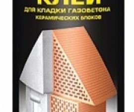 Tytan Professional Клей для кладки газобетона и керамических блоков