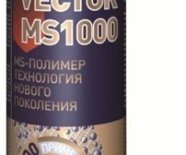 Tytan Professional Монтажный Клей Vector MS 1000