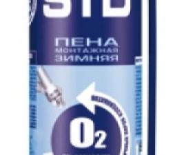 TYTAN EURO-LINE STD 02 монтажная пена, зимняя