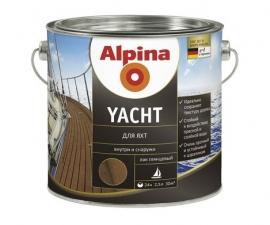 Alpina Yacht лак яхтный алкидный