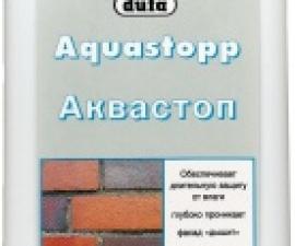 DUFA Aquastopp Силиконовая гидрофобная пропитка
