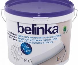Belinka краска для внутренних стен и потолков ПОД ЗАКАЗ