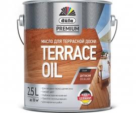 Dufa Premium Terrace Oil / Масло для защиты древесины / Дюфа Премиум Террас Ойл