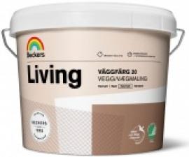 Beckers Living Vaggfarg 20 / Полуматовая краска для стен и потолков база А / Беккерс Ливинг Ваггфарг 20