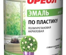 Ореол Эмаль по пластику полиуретановая акриловая