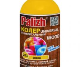 Palizh Паста колеровочная универсальная Wood