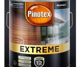 НОВИНКА! Pinotex Extreme One / Сверхпрочная защитная лазурь для древесины (Скоро в продаже)