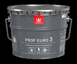 Tikkurila Prof Euro 3 / Суперукрывистая краска база C / Тиккурила Проф Евро 3