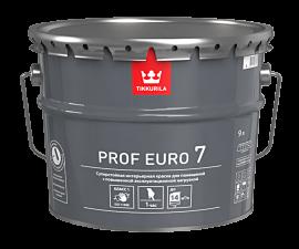 Tikkurila Prof Euro 7 / Суперстойкая моющаяся краска база C / Тиккурила Проф Евро 7