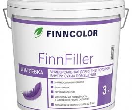 Tikkurila Finncolor FinFiller / Шпаклевка универсальная / Тиккурила Финнколор ФинФиллер