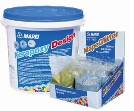 MAPEI Ultracolor Mapeglitter Металлизированная добавка в Kerapoxy Design