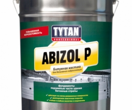 Tytan Professional Abizol P Мастика для Бесшовной Гидроизоляции