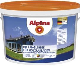 Alpina Holzfassade Долговечная для деревянных фасадов База-3 (ПОД ЗАКАЗ)