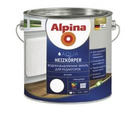 ALPINA AQUA HEIZKOERPER эмаль термостойкая для радиаторов водоразбавляемая