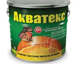 Акватекс Защита древесины