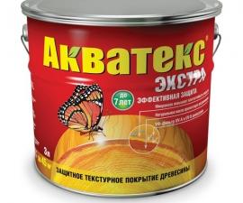 Акватекс Экстра Покрытие для древесины