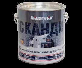 Акватекс Сканди / Кроющий антисептик для древесины