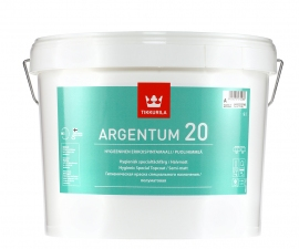Tikkurila Argentum 20 / Антимикробная краска / Тиккурила Аргентум 20