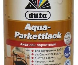 Dufa Aqua-Parkettlack / Аква-лак паркетный шелковисто-матовый / Дюфа Аква-Паркетлак