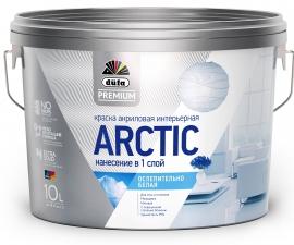 Dufa Premium Arctic / Краска акриловая ослепительно белая / Дюфа Премиум Арктик