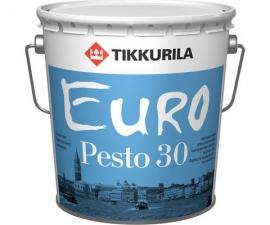 Tikkurila Euro Pesto 30 / Эмаль полуматовая баз А / Тиккурила Евро Песто 30