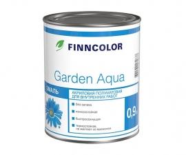 Finncolor Garden Aqua / Эмаль акриловая база А / Финнколор Гарден Аква